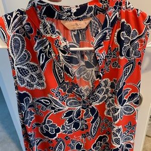 Tops - Red Blouse size L - new without tags